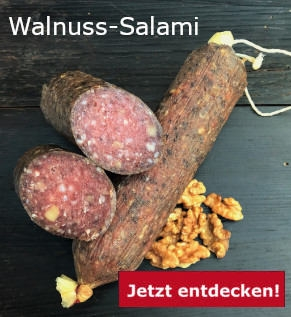 Walnuss-Salami